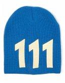 Fallout 4 Mütze Vault 111, blau