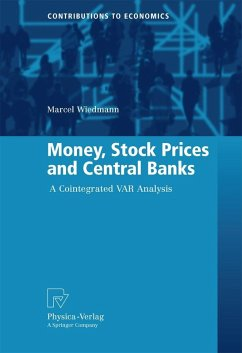 Money, Stock Prices and Central Banks (eBook, PDF) - Wiedmann, Marcel