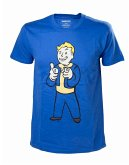Fallout 4 T-Shirt -S- Boy Shooting Fingers, blau