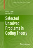 Selected Unsolved Problems in Coding Theory (eBook, PDF)