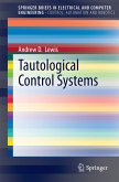 Tautological Control Systems (eBook, PDF)