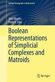 Boolean Representations of Simplicial Complexes and Matroids (eBook, PDF)