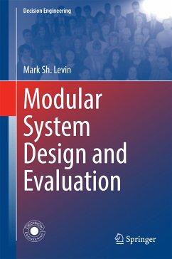 Modular System Design and Evaluation (eBook, PDF) - Levin, Mark Sh.