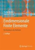 Eindimensionale Finite Elemente (eBook, PDF)