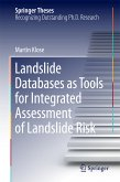 Landslide Databases as Tools for Integrated Assessment of Landslide Risk (eBook, PDF)