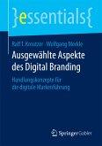 Ausgewählte Aspekte des Digital Branding (eBook, PDF)