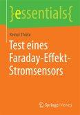 Test eines Faraday-Effekt-Stromsensors (eBook, PDF)