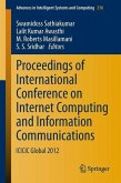Proceedings of International Conference on Internet Computing and Information Communications (eBook, PDF)