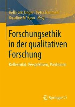Forschungsethik in der qualitativen Forschung (eBook, PDF)
