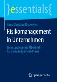 Risikomanagement in Unternehmen (eBook, PDF)