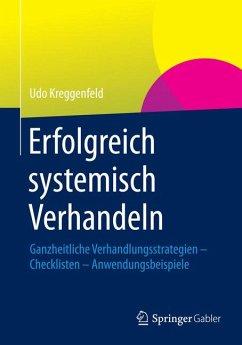 Erfolgreich systemisch verhandeln (eBook, PDF) - Kreggenfeld, Udo