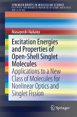Excitation Energies and Properties of Open-Shell Singlet Molecules (eBook, PDF)