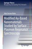 Modified Au-Based Nanomaterials Studied by Surface Plasmon Resonance Spectroscopy (eBook, PDF)