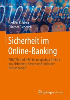 Sicherheit im Online-Banking (eBook, PDF) - Kubicek, Herbert; Diederich, Günther