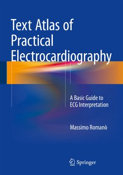 Text Atlas of Practical Electrocardiography (eBook, PDF) - Romanò, Massimo