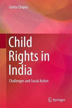 Child Rights in India (eBook, PDF) - Chopra, Geeta