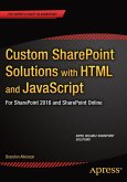 Custom SharePoint Solutions with HTML and JavaScript (eBook, PDF)