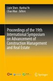 Proceedings of the 19th International Symposium on Advancement of Construction Management and Real Estate (eBook, PDF)