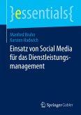 Einsatz von Social Media für das Dienstleistungsmanagement (eBook, PDF)