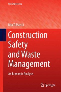 Construction Safety and Waste Management (eBook, PDF) - Li, Rita Yi Man