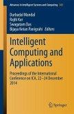Intelligent Computing and Applications (eBook, PDF)