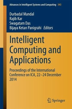 Intelligent Computing and Applications (eBook, PDF)