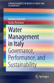 Water Management in Italy (eBook, PDF)