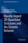 Heavily-Doped 2D-Quantized Structures and the Einstein Relation (eBook, PDF)