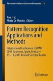 Pattern Recognition Applications and Methods (eBook, PDF)