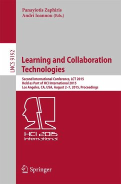 Learning and Collaboration Technologies (eBook, PDF)