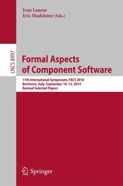 Formal Aspects of Component Software (eBook, PDF)