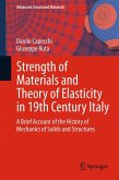 Strength of Materials and Theory of Elasticity in 19th Century Italy (eBook, PDF)