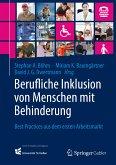 Berufliche Inklusion von Menschen mit Behinderung (eBook, PDF)
