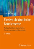 Passive elektronische Bauelemente (eBook, PDF)