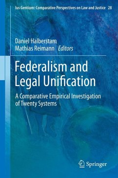 Federalism and Legal Unification (eBook, PDF)