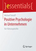 Positive Psychologie in Unternehmen (eBook, PDF)
