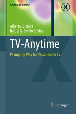 TV-Anytime (eBook, PDF) - Sotelo Bovino, Rafael G.; Gil Solla, Alberto