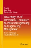 Proceedings of 20th International Conference on Industrial Engineering and Engineering Management (eBook, PDF)