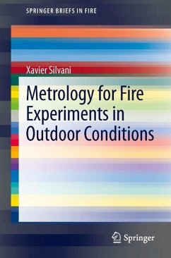 Metrology for Fire Experiments in Outdoor Conditions (eBook, PDF) - Silvani, Xavier