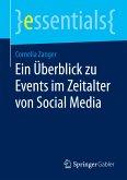 Ein Überblick zu Events im Zeitalter von Social Media (eBook, PDF)