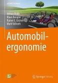 Automobilergonomie (eBook, PDF)