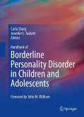 Handbook of Borderline Personality Disorder in Children and Adolescents (eBook, PDF)