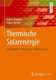 Thermische Solarenergie (eBook, PDF)