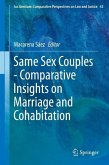 Same Sex Couples - Comparative Insights on Marriage and Cohabitation (eBook, PDF)