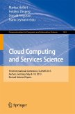 Cloud Computing and Services Science (eBook, PDF)