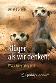 Klüger als wir denken: Wozu Tiere fähig sind (eBook, PDF)