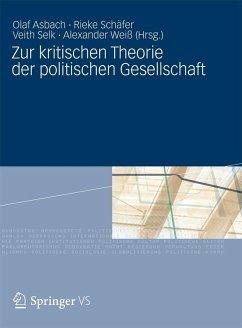 Zur kritischen Theorie der politischen Gesellschaft (eBook, PDF)