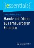 Handel mit Strom aus erneuerbaren Energien (eBook, PDF)