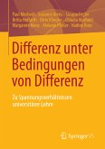 Differenz unter Bedingungen von Differenz (eBook, PDF)