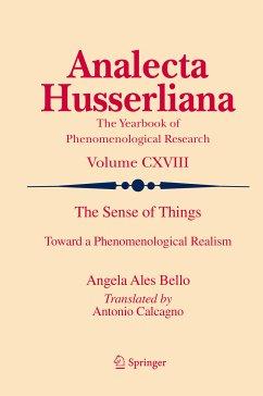 The Sense of Things (eBook, PDF) - Ales Bello, Angela
